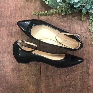 CCO⬇️$48 Ivanka Trump Luana Black Pointy Toe Flats